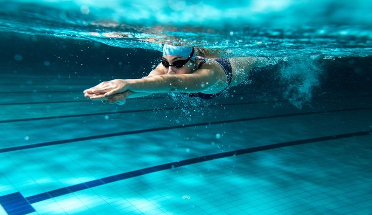 La natación tiene propiedades antiestrés a todos los niveles