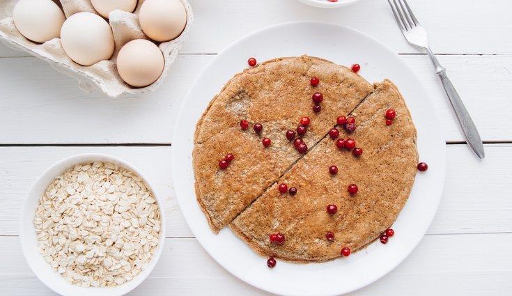 Las tortitas de avena son una opción sana si se hacen con los ingredientes adecuados