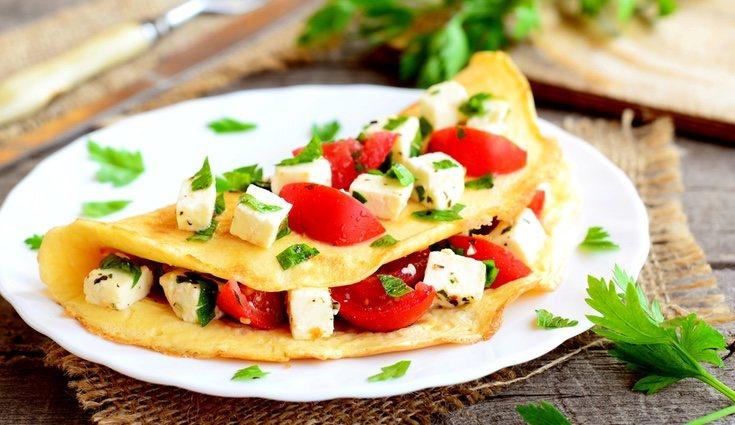 Los rollitos de tortilla son fáciles de hacer y muy nutritivos