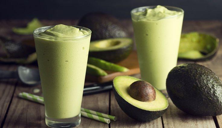 El batido verde da un extra de energía debido a sus nutritivos ingredientes