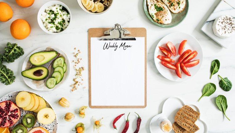 Hacer un menú te ayudará a llevar una dieta equilibrada