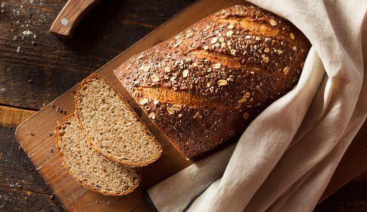 El pan integral, el que menos calorías tiene