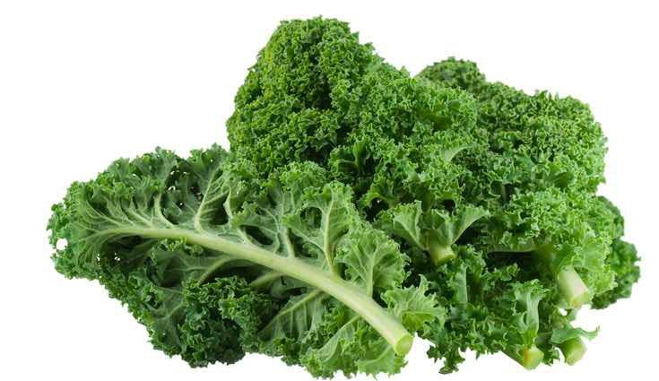El kale tiene muy pocas calorías