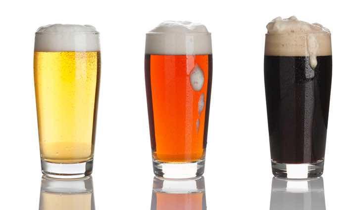 Hay muchos tipos de cervezas