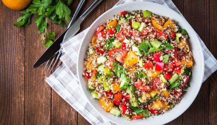 Con la quinoa se puede hacer infinidad de almuerzos