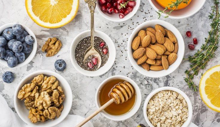 Semillas, cereales, frutos secos... no deben faltar en una dieta equilibrada