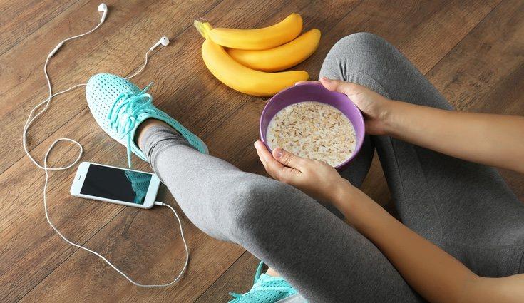 El desayuno de un deportista debe llevar un 60% de hidratos, 25% de proteínas y 15% de grasas