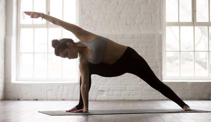 El bikram yoga se practica a más de 40 grados