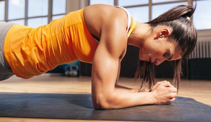 Las planchas sirven para endurecer y tonificar el abdomen