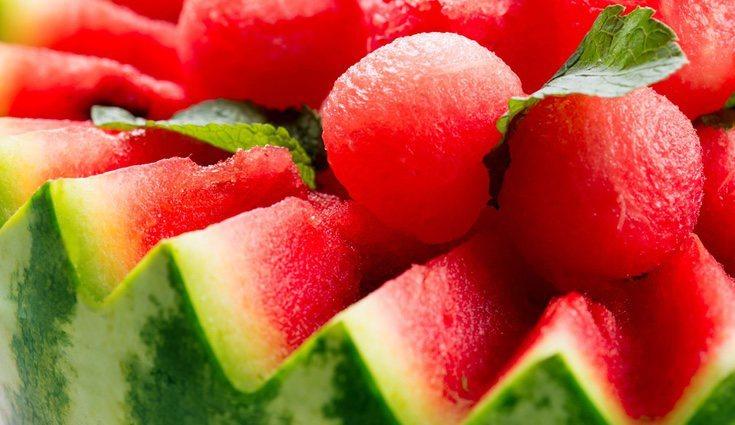 La sandía es la fruta más sabrosa y refrescante