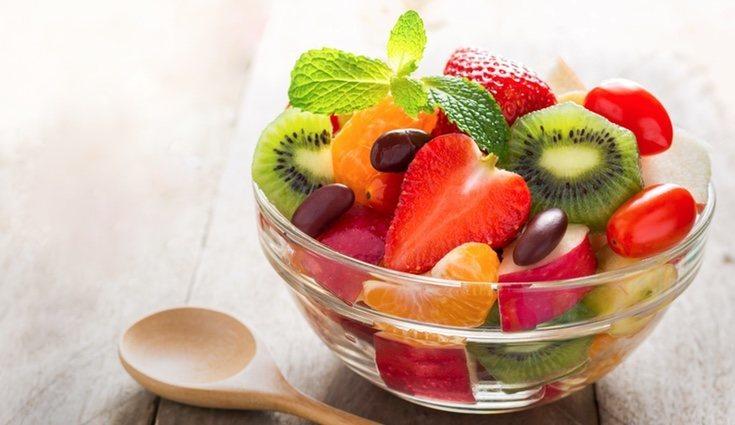 Pese a las kilocalorías, la fruta nunca será mala opción para un dieta