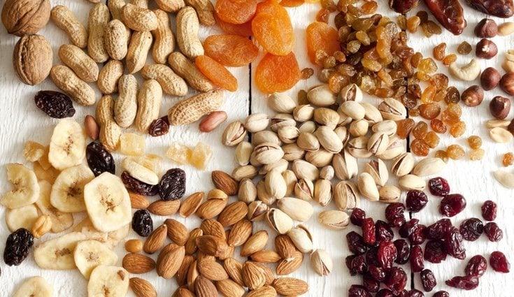 Cenar frutos secos para adelgazar