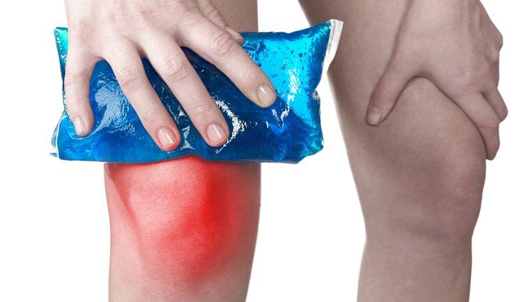 Aplicar frío en la zona dolorida puede ayudar a aliviar las agujetas