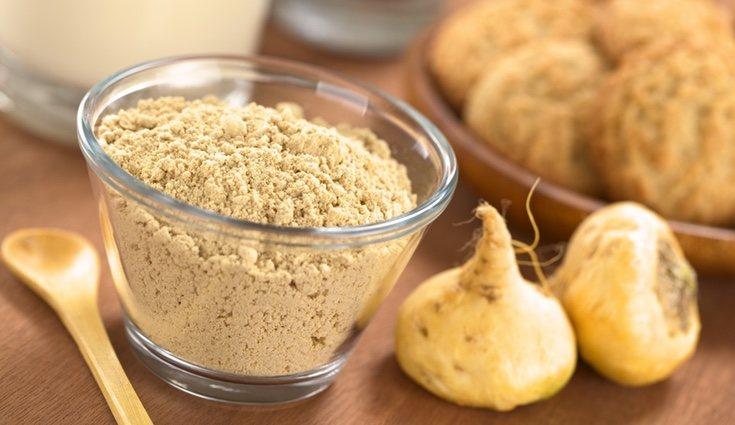 La maca en polvo es muy fácil de consumir y digerir