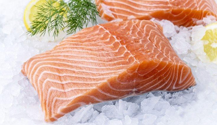 El salmón es otro de los alimentos ricos en Omega 3
