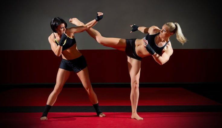 El Kick boxing implica que los golpes que dan a un contrincante