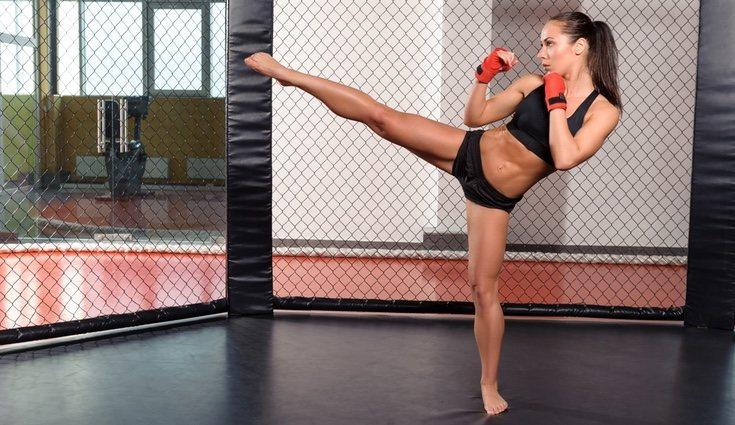 El kick boxing te ayudará a tonificar pero también es una divertida forma de hacer deporte