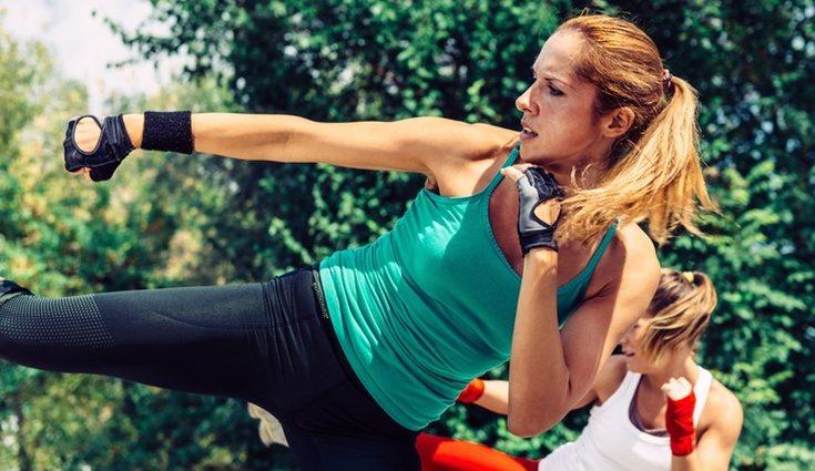 Es recomendable acompañar el deporte con una dieta equilibrada