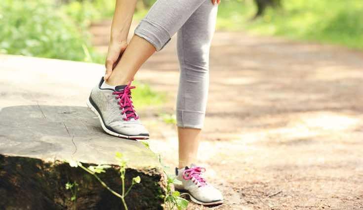 Hay que fortalecer el tobillo para evitar lesiones