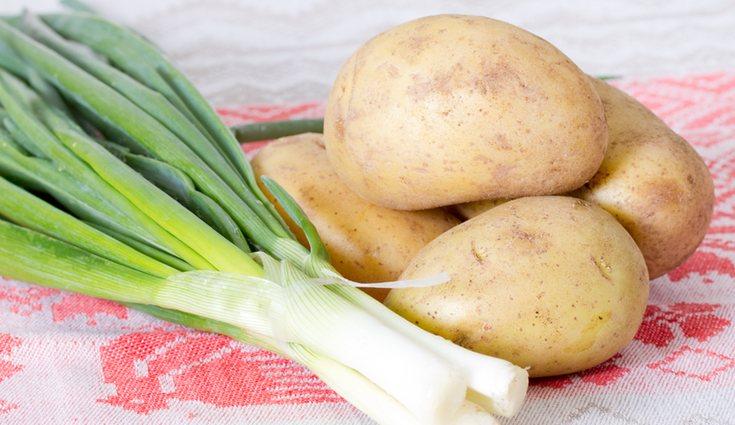 El puerro y la patata son de las verduras con más calorías