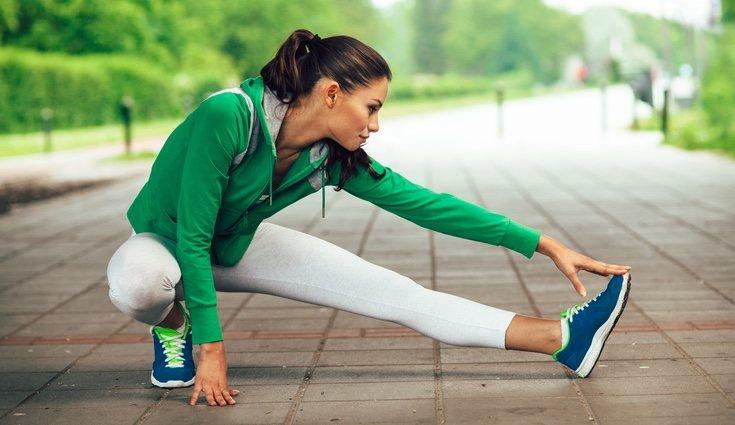 Los ejercicios dinámicos se realizan en una intensidad suave-moderada