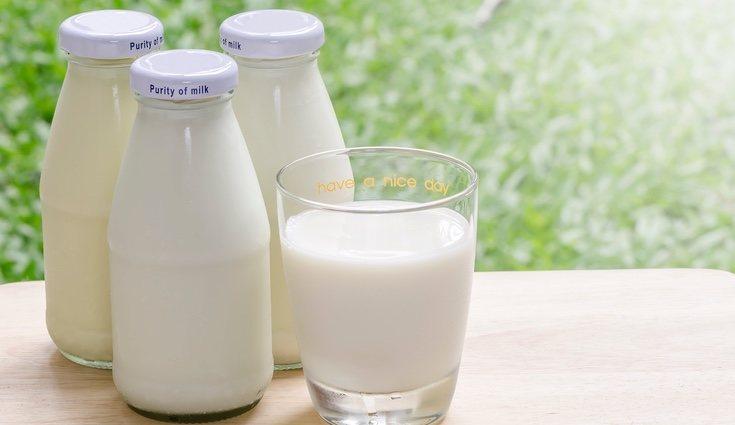 Hay tres tipos de leche de vaca: semidesnatada, entera y desnatada