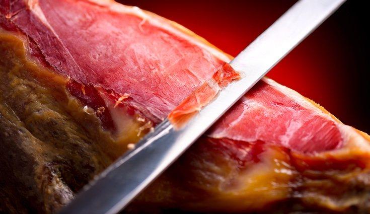 El jamín ibérico es un alimento que puedes incluir en tus dietas