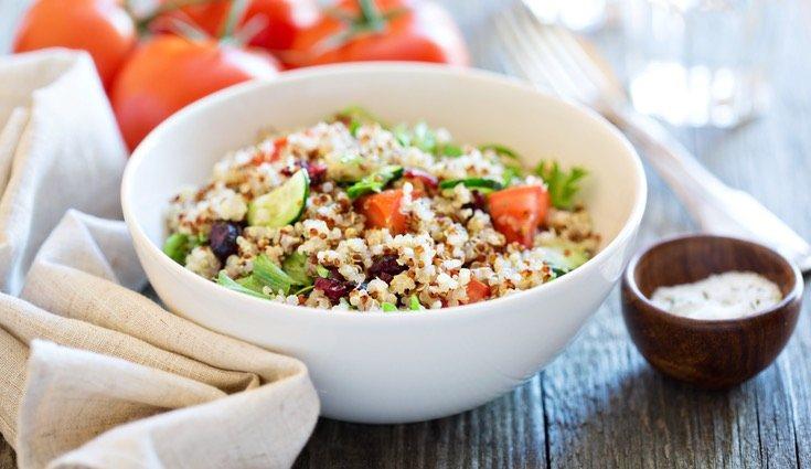 Puedes crear variados y deliciosos platos con quinoa