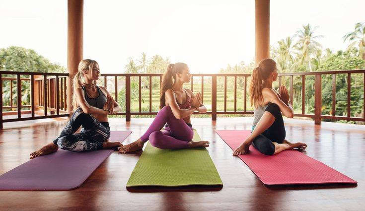 Este tipo de ejercicios están en estrecha relación con el yoga