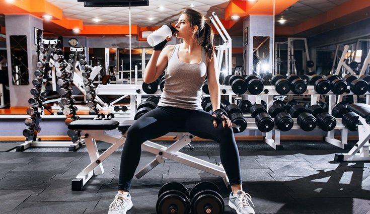 Toma un batido antes de entrenar o al acabar el ejercicio