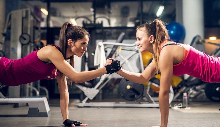 El tiempo de duración haciendo el ejercicio debe de ser progresivo y lentamente