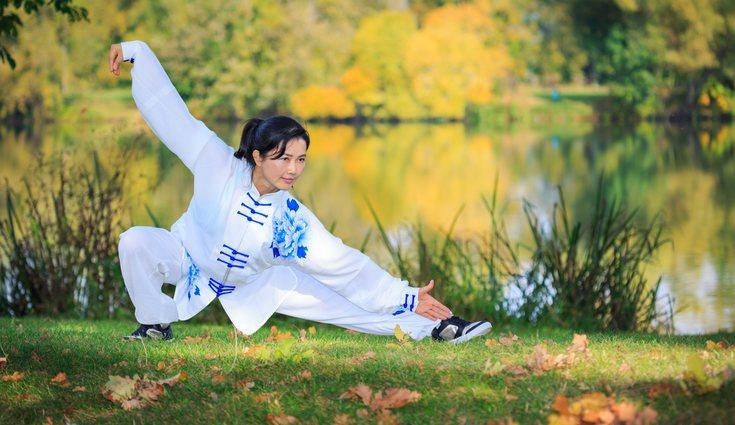 El taichí es un arte marcial con origen asiático