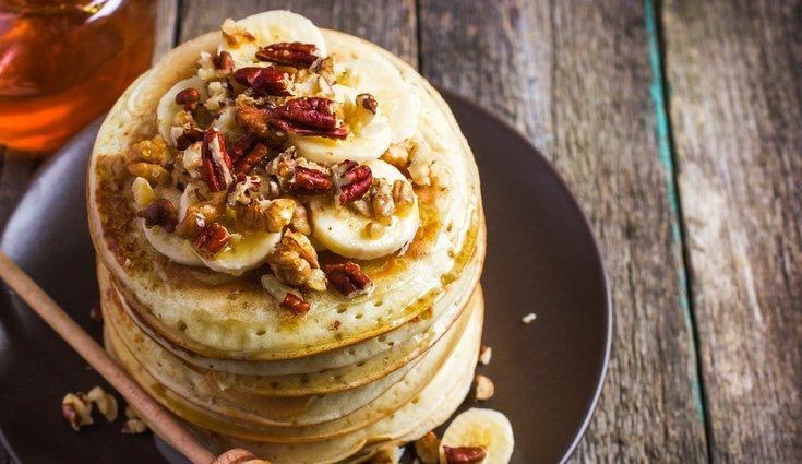 Se pueden endulzar las tortitas de avena añadiendo vainilla y canela en vez de azúcar