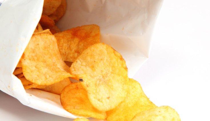 Por cada 100 gramos de patatas fritas puden llegar a tener 500 calorías