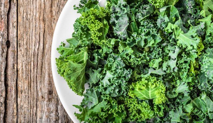 El kale es una verdura muy rica en calcio