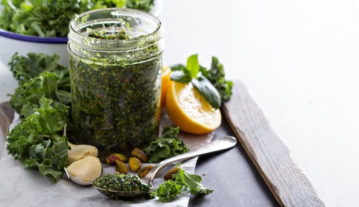 El kale es rico en ácidos grasos omega-3