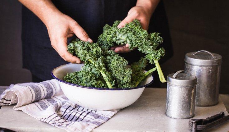 El kale puede ser sustituido por la ensalada y tiene un alto contenido en vitamina C