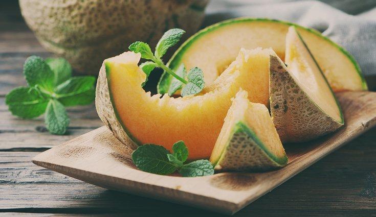El melón es un potente antioxidante y es una de las frutas que menos calorías tiene