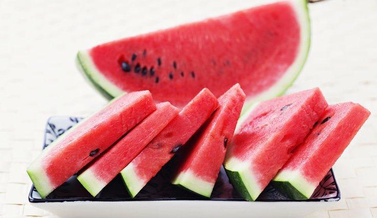La sandía es una fruta en baja calorías