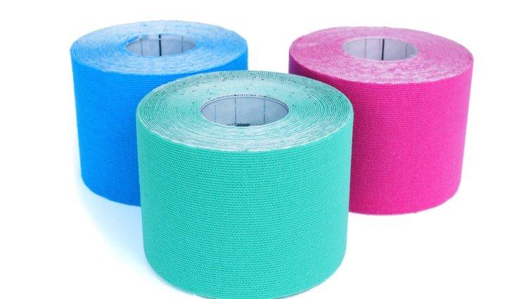 Estas tiras de colores se colocan sobre la epidermis la primera capa de la piel