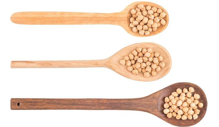 Los garbanzos son ricos en proteínas y son aptos para los vegetarianos