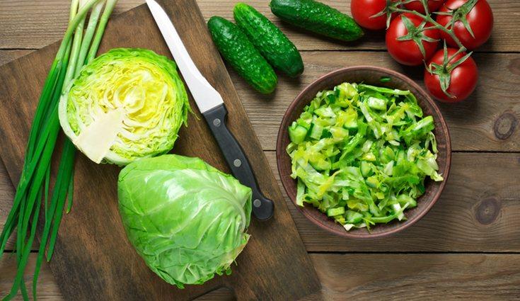 El repollo no ha de ser un ingrediente principal sino un elemento más dentro de un plato
