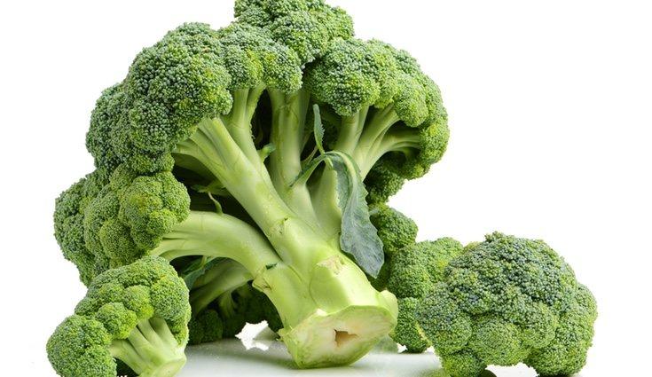 El brócoli tiene un alto contenido en vitaminas