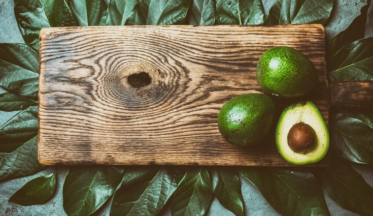 El aguacate es una fruta baja en azúcares