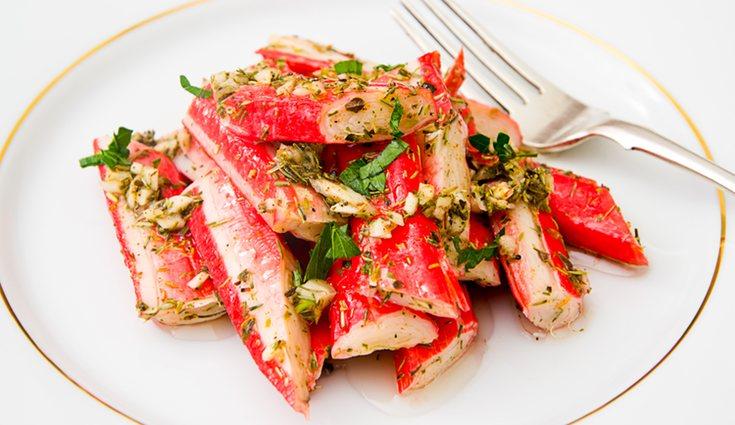Los palitos de cangrejo fue un alimento que se puso muy de moda hace unos años