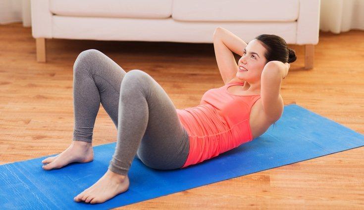 Los abdominales son ideales para fortalecer el abdomen