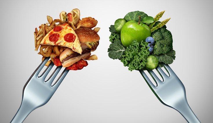 La alimentación es fundamental para aumentar el volúmen de las piernas