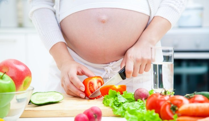 Comer sano es esencial para un desarrollo correcto del bebé
