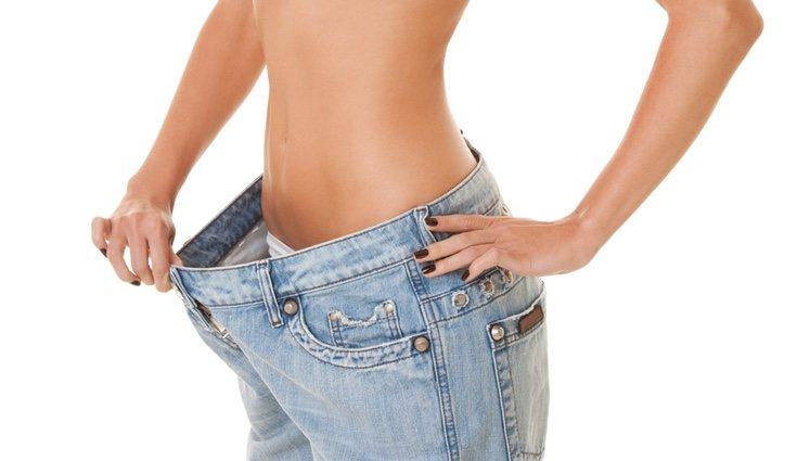 Al final verás como tu peso se reduce