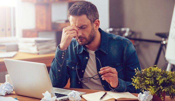 El estrés también influye en la pérdida de defensas